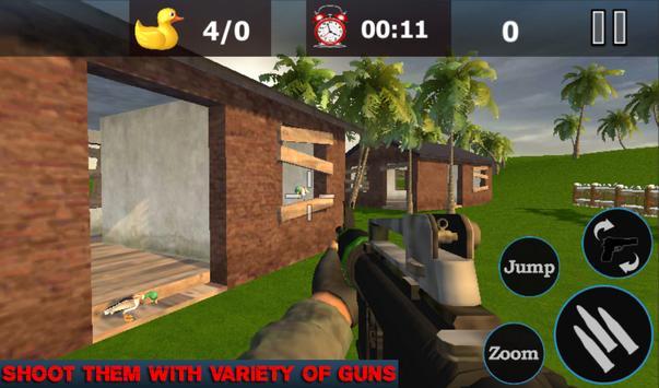 Duck Shoot Hunting Bird Wild Sniper 3D 2018 screenshot 2