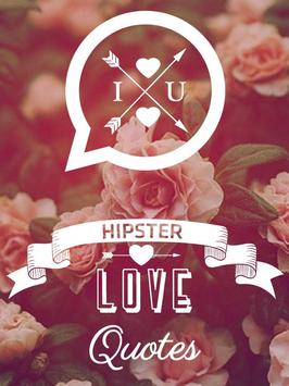 Hipster Love Quotes screenshot 8