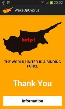 Save Cyprus poster