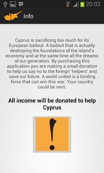 Save Cyprus screenshot 1