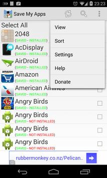 Save My Apps (Apps Manager) apk screenshot