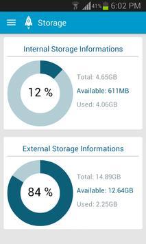 Clean Memory Tool Booster HD apk screenshot