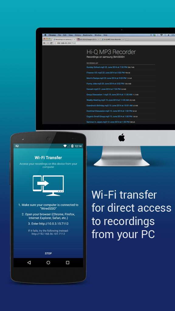 Hi-Q MP3 Voice Recorder (Free) for Android - APK Download