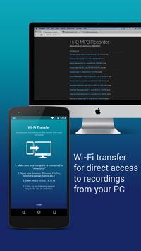 Hi-Q MP3 Voice Recorder (Free) apk screenshot