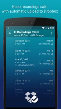 Hi-Q MP3 Voice Recorder (Free) screenshot 1