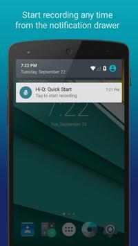 Hi-Q MP3 Voice Recorder (Free) screenshot 2