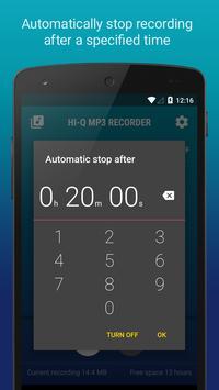 Hi-Q MP3 Voice Recorder (Free) screenshot 6