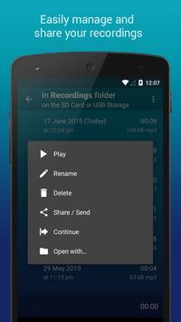 Hi-Q MP3 Voice Recorder (Free) screenshot 7