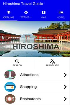 Hiroshima Travel Guide poster