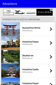 Hiroshima Travel Guide screenshot 1