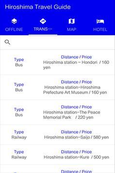 Hiroshima Travel Guide screenshot 3