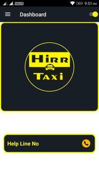HirrTaxi Partner poster