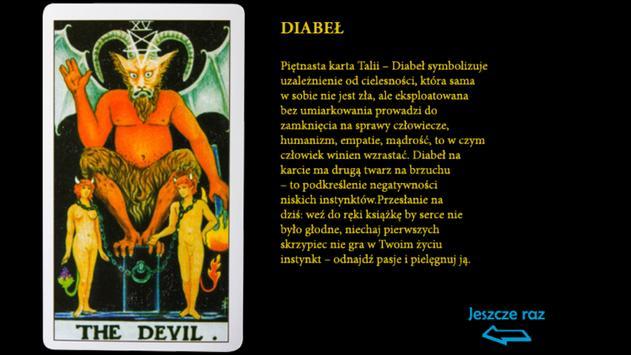 Tarot po polsku poster