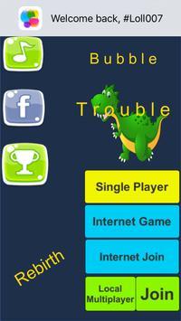 Bubble Trouble poster