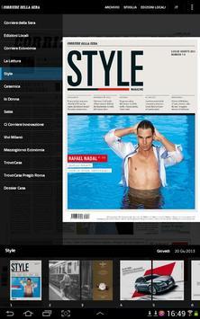 Corriere della Sera screenshot 6