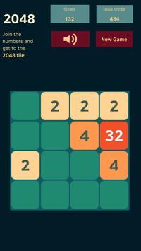 2048 Game Origin apk screenshot