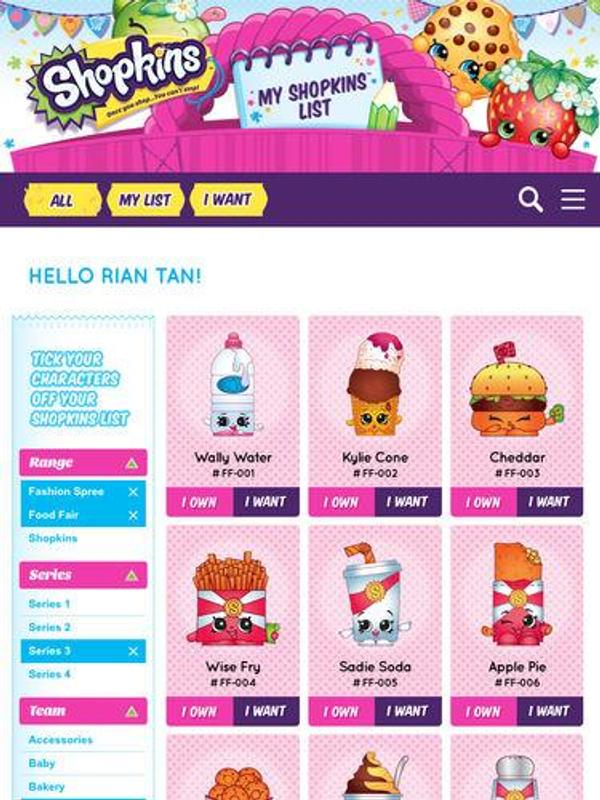 This is a graphic of Ambitious Shopkins Season 3 List Printable