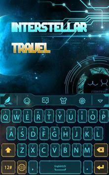 Interstellar travel for Hitap poster