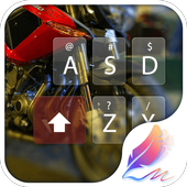 Moto racer for Hitap Keyboard icon