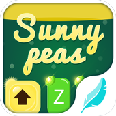 Sunny peas for HiTap Keyboard icon