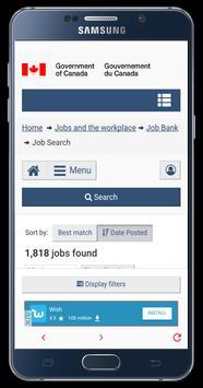 Job Bank screenshot 2