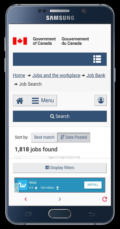 Job Bank For Android