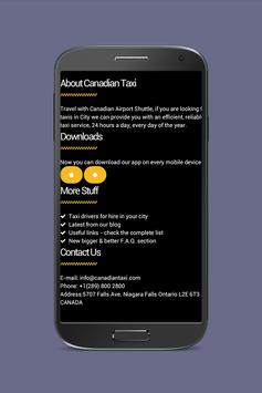 Canadian Taxi apk screenshot
