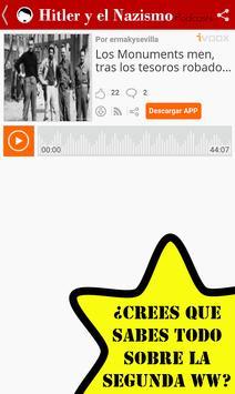 Hitler Historia Nazismo Podcasts screenshot 2