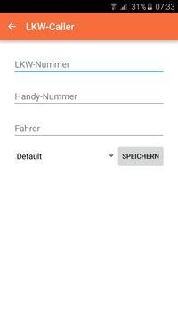 LKW-Caller Kontaktliste apk screenshot