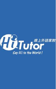 HiTutor—Your Best Online Foreign Language Tutor poster