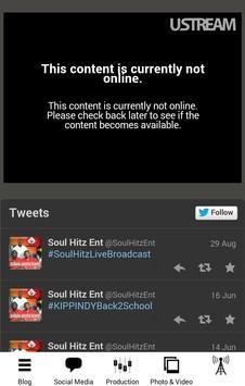 Soul Hitz Media App apk screenshot