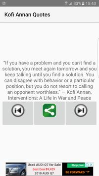 Kofi Annan Quotes for Android - APK Download