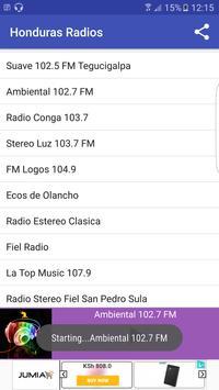 Honduras Radio Stattions screenshot 4