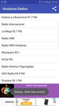 Honduras Radio Stattions screenshot 5