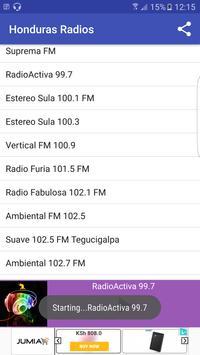 Honduras Radio Stattions screenshot 11