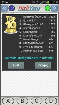 YGS LYS TEOG Videolu Test apk screenshot