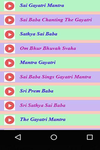 Sathya Sai Baba & Gayatri Mantras for Android - APK Download