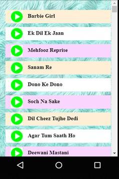 Best of Bollywood Songs 2017 Hits screenshot 1
