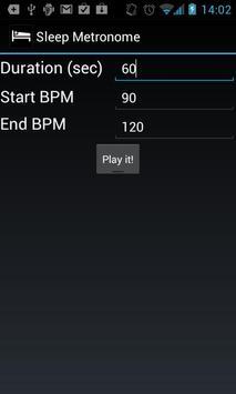 Sleep Metronome apk screenshot