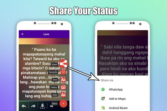 Pinoy Tagalog Hugot Bisaya Love Quotes Editor For Android APK New Photo Editor With Love Quotes