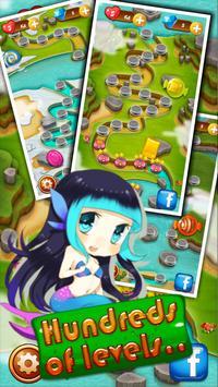 Candy Sweet Garden apk screenshot