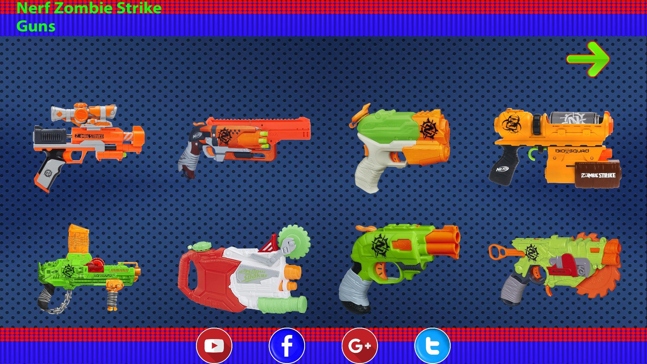 Nerf Zombie Strike Guns Para Android Apk Baixar