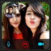 Fake video call - Girlfriend Video Call Prank icon