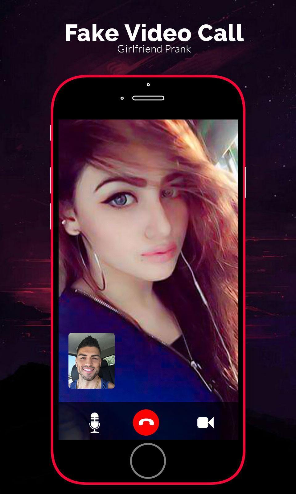 Fake video call - Girlfriend Video Call Prank poster