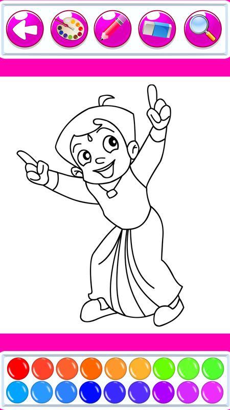 Libro de colorear superhéroe Bheem for Android - APK Download