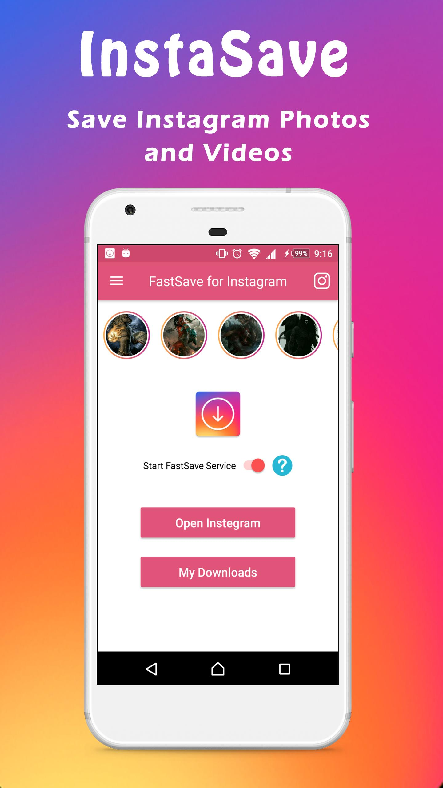 Instagram Fastsave Quick Save Video And Photos For Android Apk Download