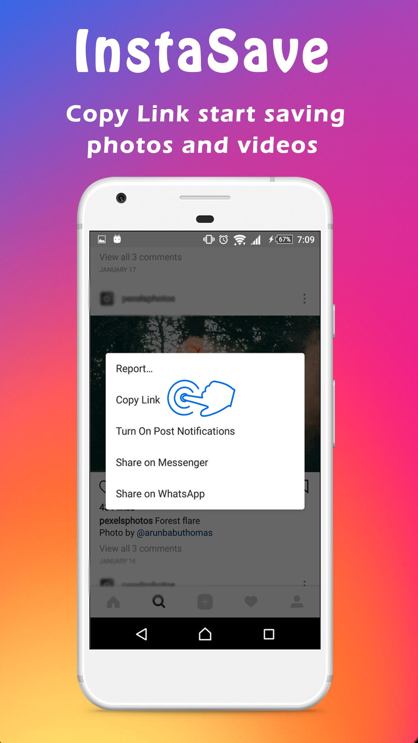 Instagram FastSave - Quick Save Video and photos for Android