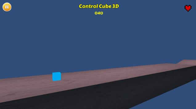 Control Cube 3D poster
