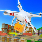 UAV Fast Food Delivery Service icon