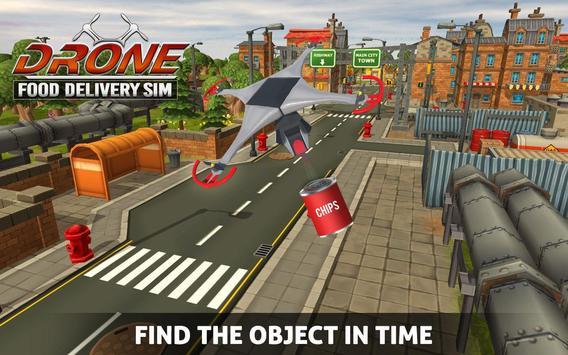 UAV Fast Food Delivery Service screenshot 1